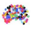 Silicon Color Code Rings - Large (1/4