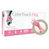 ColorTouch Pink Powder-Free Latex Exam Gloves