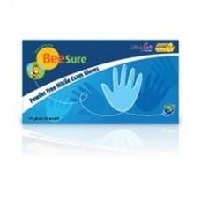 BeeSure Powder Free Nitrile Exam Gloves