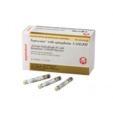 Septocaine w Epinephrine Articaine Hydrochloride 4%