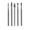 QUALITE Surgical Length Carbide Burs