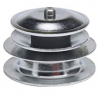 Magnetic Bur Block - Round Nickel Plated Steel